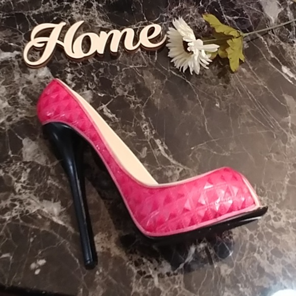 Other - Pink High Heel Wine Holder LIKE NEW!